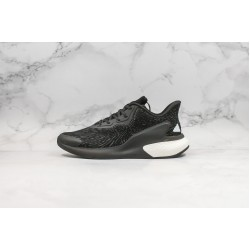 Adidas Alphaboost System Black White