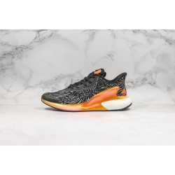 Adidas Alphaboost System Black White Orange