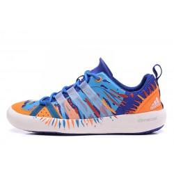 Adidas Climacool Boat Lace Blue Orange
