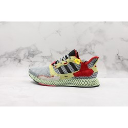 Adidas Consortium ZX 4000 4D Gray Red Yellow