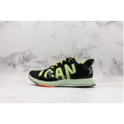 Adidas Consortium ZX 4000 4D ICan Black Green Orange F36018
