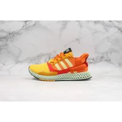 Adidas Consortium ZX 4000 4D Orange Yellow Red