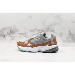 Adidas Falcon W Gray Brown White