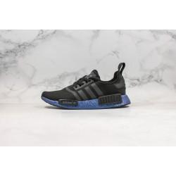 Adidas NMD R1 Boost Black Blue FV3645