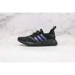 Adidas NMD R1 Boost Black Blue Orange