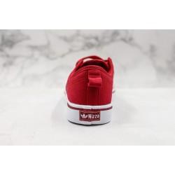 Adidas Nizza Blanc Bordeaux LO Red White B37857