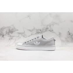 Adidas Nizza White Gray EF2039