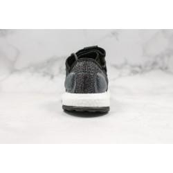 Adidas Pure Boost Black White Blue