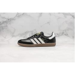 Adidas Samba Millenium Club Black White Gold