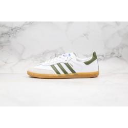 Adidas Samba Millenium Club White Green Gold