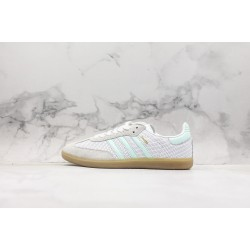 Adidas Samba OG Club White Green CG6108