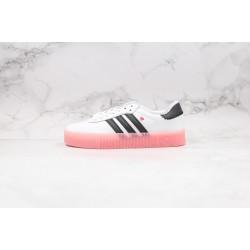 Adidas Samba Rose W White Black Pink EF4965