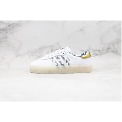 Adidas Samba Rose W White Gold FW5345