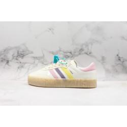 Adidas Samba Rose White Pink Yellow EG1817