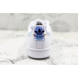 Adidas Stan Smith White Blue 36-45