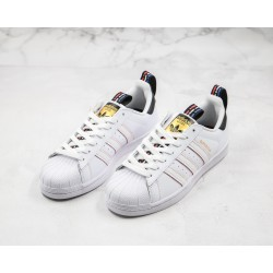 Adidas Superstar 50s White Black Red FW6775 36-45