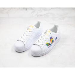 Adidas Superstar 50s White Yellow Orange FU6520 36-45