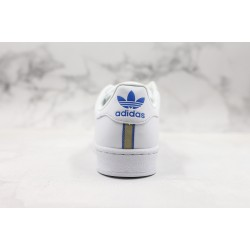 Adidas Superstar W White Blue Yellow CG6019 36-45