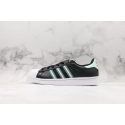 Adidas Superstar W Black White Blue BD7417 36-45