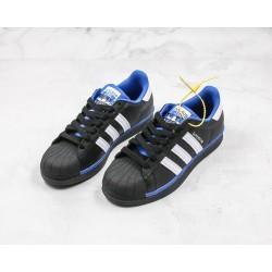 Adidas Superstar Black White Blue FV4190 36-45
