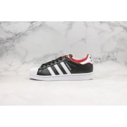 Adidas Superstar Black Red 36-45