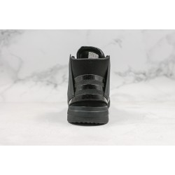 Adidas Y-3 Bball Tech High-Top Sneakers All Black