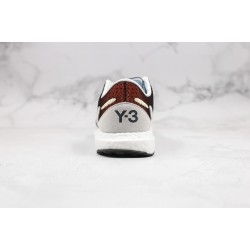 Adidas Y-3 Boost White Black Red