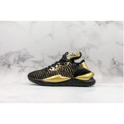 Adidas Y-3 Kaiwa Chunky Sneakers Black Gold
