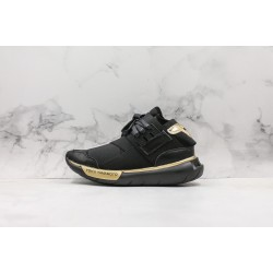 Adidas Y-3 Qasa High Black Gold AA5566