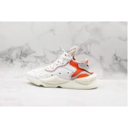 Adidas Y-3 Qasa High White Orange Gray