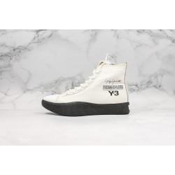 Adidas Y-3 Yuben Canvas Low White Black