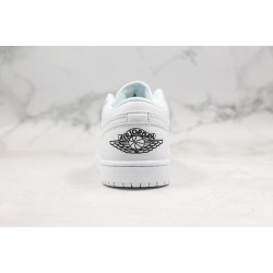 Air Jordan 1 Low All White 553560-101 36-45