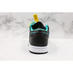 Air Jordan 1 Low Black Blue 553558-026 36-45
