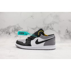 Air Jordan 1 Atmosphere Black Gray 553558-110 36-45