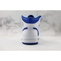 Air Jordan 1 Hyper Royal White Blue 554724-114 36-45