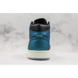 Air Jordan 1 Mid Black Blue BQ6472-009 36-45