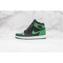 Air Jordan 1 High OG Black Green Toe 555088-030 36-45