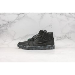 Air Jordan 1 Mid All Black CU2804-300 36-45
