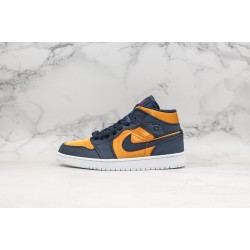 Air Jordan 1 Mid Black Gold 852542-401 36-45