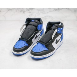 Air Jordan 1 High Black Blue 555088-041