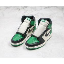 Air Jordan 1 High Black Green 575441-302