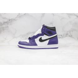 Air Jordan 1 Court Purple 555088-500 36-45
