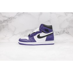 Air Jordan 1 Court Purple White 555088-500 36-45