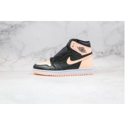 Air Jordan 1 High Black Pink 575441-081