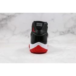 Air Jordan 11 Black Red 378037-061 36-45