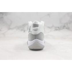 Air Jordan 11 WMNS Metallic Silver White AR0715-100 36-45