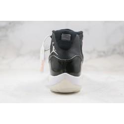 "Air Jordan 11 ""Jubilee"" Black White Silver CT8012-011"