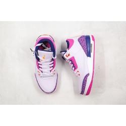 Air Jordan 3 GS Pink Purple 441140-500