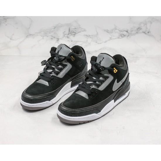 Air Jordan 3 Retro Hall of Fame Black Gray 36-45