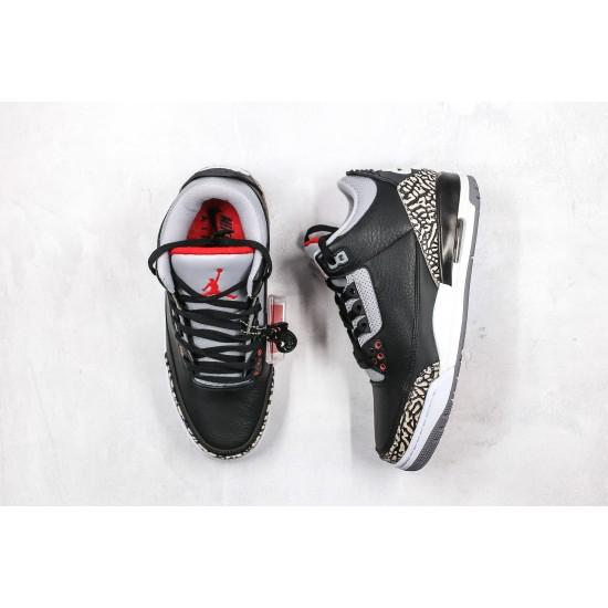 Air Jordan 3 Retro OG Black Cement 854262-001 36-45